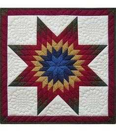 "Rachel's of Greenfield-Lone Star Wall Quilt Kit-22""X22"""