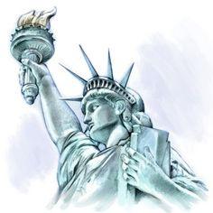 statue of liberty drawing - Google zoeken