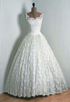 1950 S Wedding Dress Perfect Dream Bridal Gowns Lace