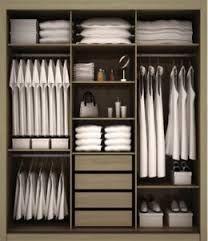 Ideia: acrescentar sapateira, mais divisorias para roupa de mesa e outros. Parte das camisas mais largo!guarda roupa divisorias - Pesquisa Google