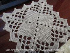 Mais uma dica de square | :::Amor em cada Pontinho::: Crochet Squares, Crochet Granny, Crochet Motif, Crochet Shawl, Crochet Doilies, Knit Crochet, Crochet Patterns, Thread Crochet, Crochet Stitches