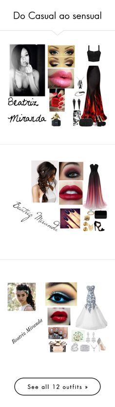 """""""Do Casual ao sensual"""" by biailove1d on Polyvore featuring moda, Element, Roberto Cavalli, Anya Hindmarch, Swarovski, Effy Jewelry, Milly, Pieces, NYX e Marc Jacobs"""