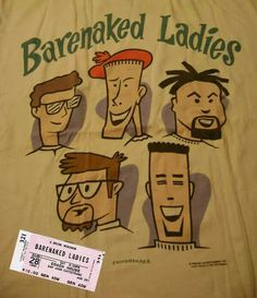 Barenaked Ladies Barenaked Ladies, Lady, Fangirl, Boys, Music, Fictional Characters, Baby Boys, Musica, Fan Girl