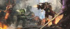 ArtStation - Warhammer 40K Fanart, J A D