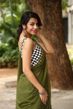 Sasha Singh In Green Saree at Edaina Jaragocchu Movie Launch TV actress Photographs TV ACTRESS PHOTOGRAPHS | IN.PINTEREST.COM #ENTERTAINMENT #EDUCRATSWEB
