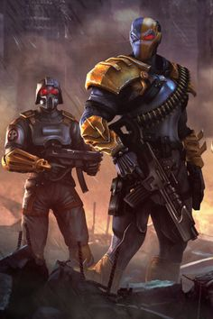 Deathstroke & Assassin Trooper