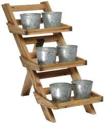 wooden plant stand - Buscar con Google