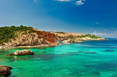 3. Cala Xarraca, Ibiza, Spain Admittedly, there are parts of Ibiza that have been somewhat spoiled by 40 years of mass tourism, but away from San Antonio, Playa d'en Bossa and the like, the White Isle hides away several beaches that rank among the best in the Med. Make mine a San Miguel!