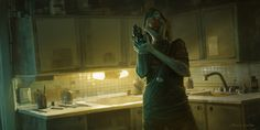 ArtStation - Kitchen, Nikolai Lockertsen