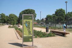 fwdesign: wayfinding & design consultants | burgess park