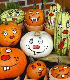Pumpkin Face Paint, Cat Pumpkin, Pumpkin Faces, Pumpkin Painting, Pumpkin Ideas, Halloween Pumpkins, Fall Halloween, Halloween Crafts, Halloween Decorations