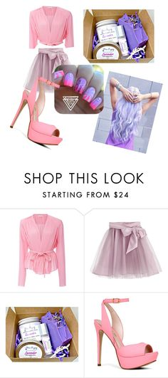 """""""Pinky princess"""" by mrasul-1 ❤ liked on Polyvore featuring beauty, Carven, Little Wardrobe London and ALDO"""