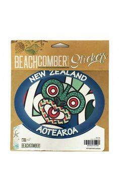 Tiki Mask, New Zealand, Mythology, Stickers, Fun, Gifts, Outdoor, Maori, Outdoors