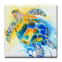 "More Sea Turtles Tile Coaster by CafePress . $12.50. 4.25"" x 4.25"" and 1/6-inch thick. Dishwasher safe. Ceramic. Not for use with abrasive cups and mugs. Four felt pads protect your furniture from scratches. Love Sea Turtles? Interested in Sea Turtle Rescue? Just want to show support for Sea Turtles? Original Artwork by Artist Jo Lynch, printed on a variety of gift items for the gentle sea Turtle Giants."
