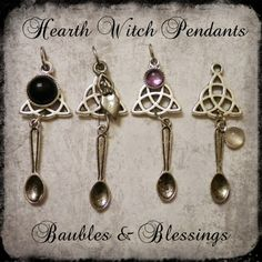Customizable Hearth Witch Necklace: Build Your Own! | Baubles-And-Blessings - Jewelry on ArtFire