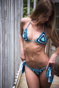 Sexy Bikini, Bikini Girls, Jolie Lingerie, Lingerie For Men, Lingerie Sets, Sexy Lingerie, Tumbrl Girls, Crochet Bathing Suits, Bikini Poses