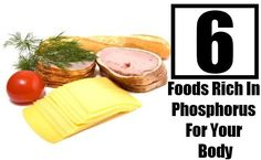 Top 6 Foods Rich In Phosphorus For Your Body Healthy Fruits, Healthy Recipes, Healthy Foods, Micro Nutrients, Types Of Food, Health Care, Vitamins, Diet, Top