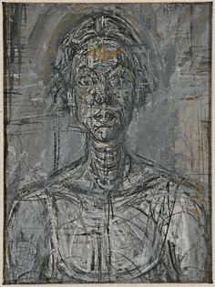 Bust of Annette by Alberto Giacometti, 1954 Private Collection