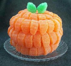 Orange slice pumpkin