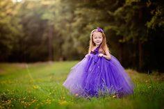 Purple Mist Tutu Dress: Flower Girl  Jr. by FloppyBunnyBoutique