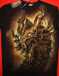 Airbrushed on the T-Shirt