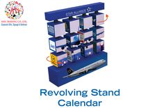 Revolving Stand Calendar : For a quotation and further inquiries, please call us on +97142666-167 & aha@ahadubai.com and our sales team will be happy to assist you.