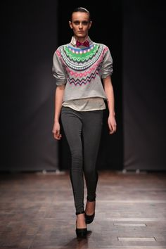 SCANDI STYLE - Funky Norwegian knit idea