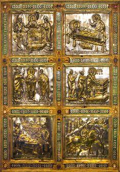 Volvinio_Altare-S.Ambrogio Basilica di Sant'Ambrogio    #TuscanyAgriturismoGiratola