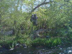 Minnhaha statue