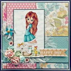 Kards by Katie Kreations- Image Lily Bo and Peep by Saturated Canary; colored with Copics