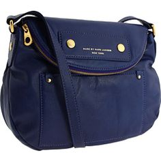 marc by marc jacobs preppy leather natasha russian blue...