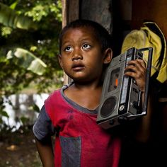 Like a boom box - #Indonesia