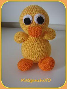 Patito de ganchillo/crochet