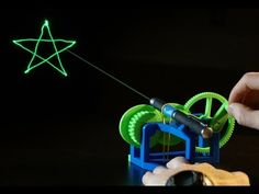 3ders.org - This 3D-printed plastic contraption turns a laser pointer into a trippy customized light show | 3D Printer News & 3D Printing News