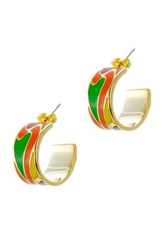 CZ BY KENNETH JAY LANE Caribbean Earrings