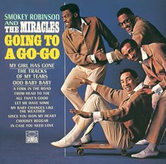 Album cover for Going to a Go-Go, a 1965 Tamla Records LP by Smokey Robinson & the Miracles