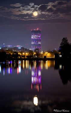 Bucharest, Moon, The Moon