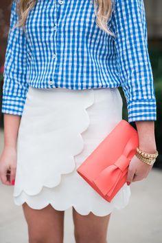 Cute scalloped skirt