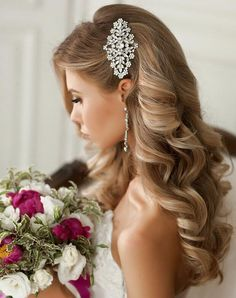 Wedding hair. ♥