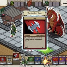 I saw this great indie game developer at PAX - this is a free-to-play, browser-based card / boardgame based on geeky old school D nostalgia: Card Hunter Pathfinder Card Game, Dragon Time, Game Google, Free To Play, Tabletop Games, Character Concept, Game Design, Board Games, Video Game