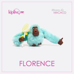 Você sabia que a Kipling tem muitos macacos especiais? Esse é o macaco Florence! Venha conhecer os outros ;)