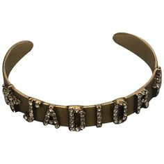 Pre-Owned Dior Metallic Metal Bracelet Baby Dior, Global Icon, Christian Dior Couture, Metal Bracelets, Bracelet Sizes, French Fashion, World Of Fashion, Luxury Branding, Stylists