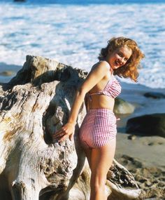 Norma Jeane/Marilyn Monroe at Catalina Island.  Photo by Richard C. Miller, March 1946
