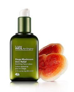 Face Moisturizer || Dr. Andrew Weil for Origins Mega Mushrooms Skin Relief- Soothing Lotion (sensitive skin & redness for normal,oily skin)
