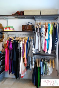 master closet complete transformation