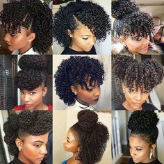 134 Best Medium Length Natural Hairstyles Images In 2020 Natural