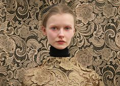Nothing like a good lace camouflauge to get you excited :) thanks Prada Couture Fashion, Fashion Art, Fashion 2015, Miu Miu, Fashion Forecasting, Miuccia Prada, Linens And Lace, Lace Making, Fashion Photography