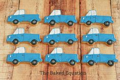 Birthday Sugar Cookies for Boys | The Baked Equation