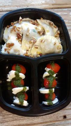 Yes Food Brasil - Linha SPA 380gr - Ravioli nozes e caprese (tomate, queijo branco e pesto genoves)
