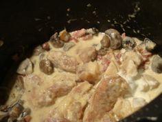 Blanquette de veau !!!cookeo usb Champagne, 20 Min, Usb, Pork, Beef, Chicken, Meat, Eat, Kale Stir Fry
